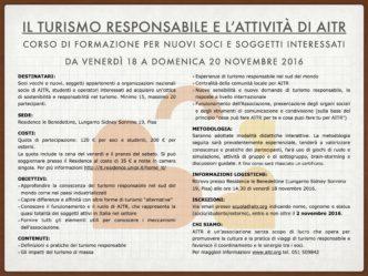 Programma corso AITR novembre 2016