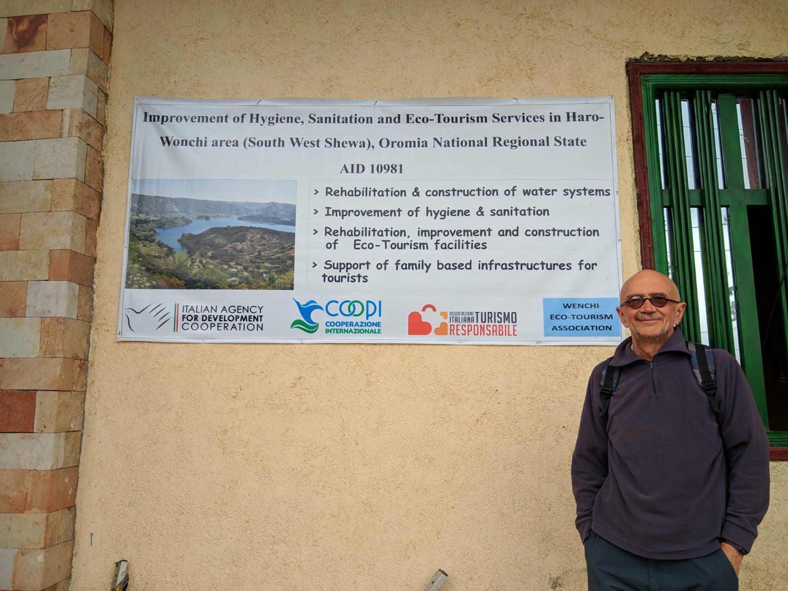 """Progetto Etiopia """"Intervento di miglioramento dei servizi igienico-sanitari ed eco-turistici nella zona di Haro-Wenchi (South West Shewa)"""