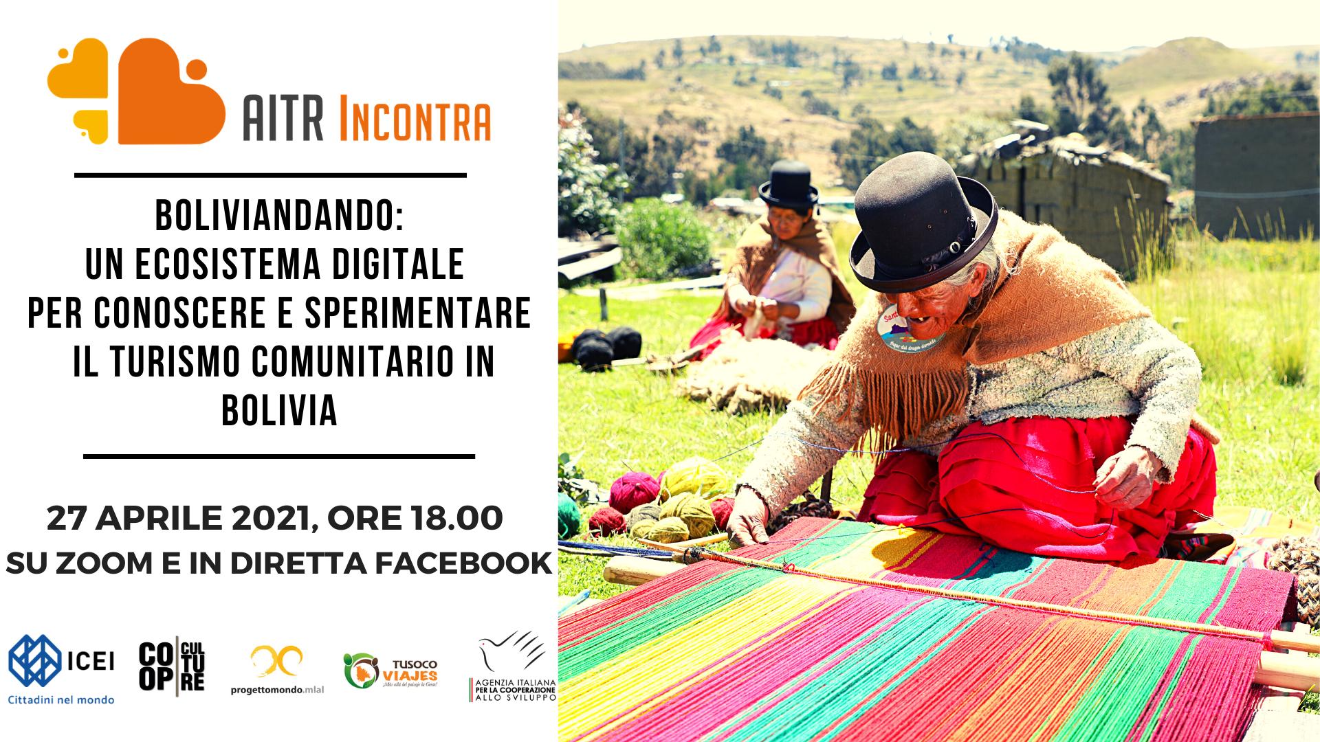 Boliviandando: un ecosistema digitale per conoscere e sperimentare il turismo  comunitario in Bolivia